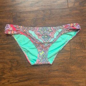 Victoria's Secret paisley swim bottoms